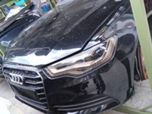 Audi A6 Half Cut