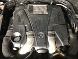 Mercedes Benz W222 Engine