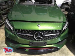 Mercedes Benz A Class AMG Half Cut
