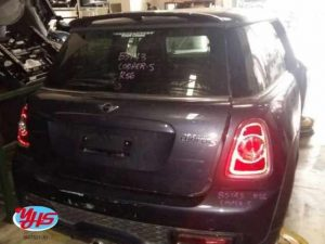 Mini Cooper R56 Rear Cut
