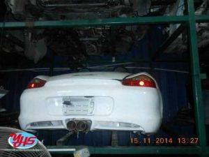 Porsche Boxster Rear Cut