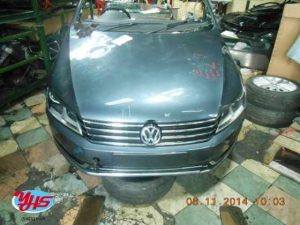 Volkswagen Passat Front Cut