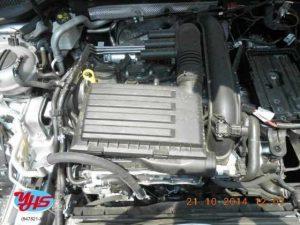 Volkswagen Gold MK7 Engine
